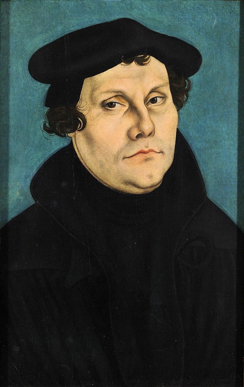 Реформация была начата Мартином Лютером