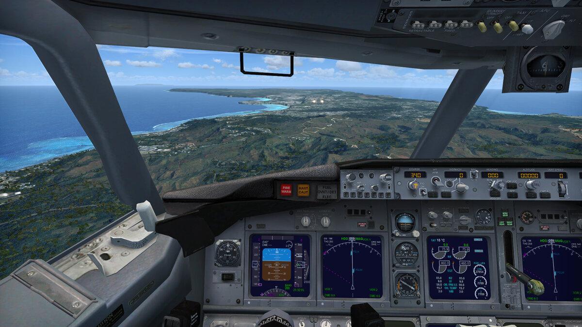 Обучение во время изоляции - Microsoft Flight Simulator