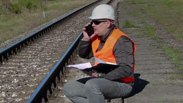 Электронный инженер в железнодорожной отрасли