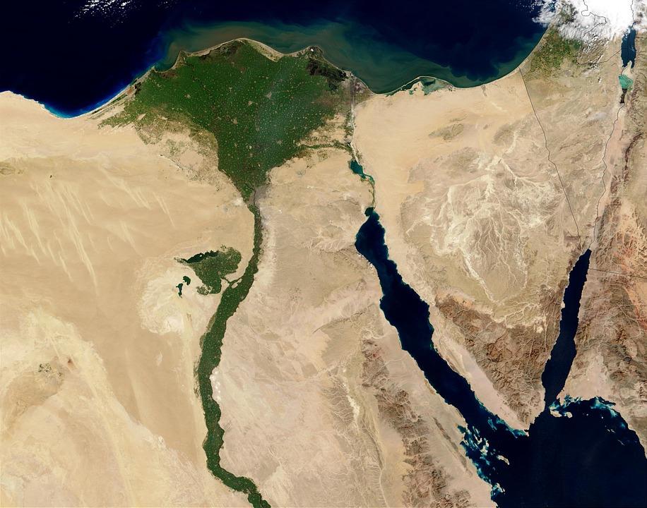 Географическое расположение Египта