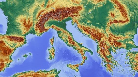 Карта Европа