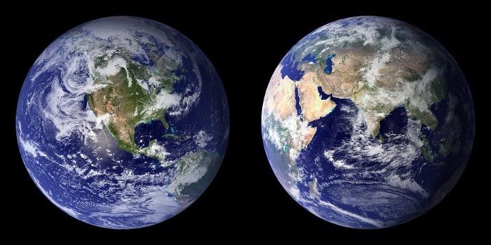 Характеристика рельефа Земли