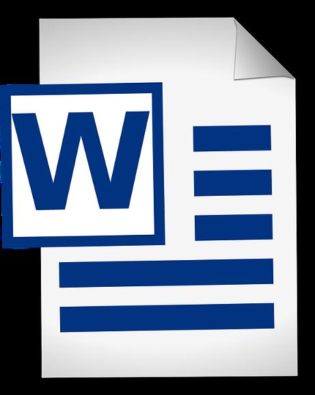 Документе Word
