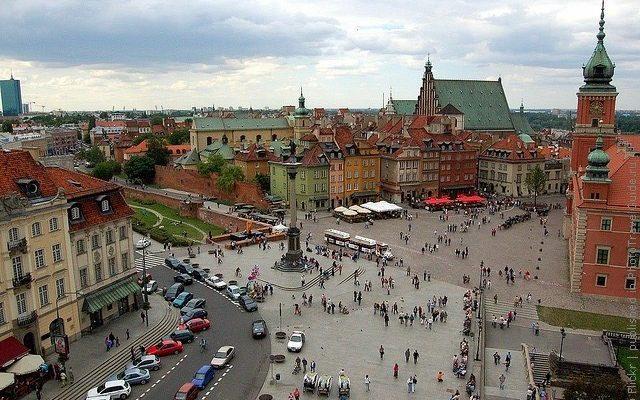 Замковая площадь, Варшава