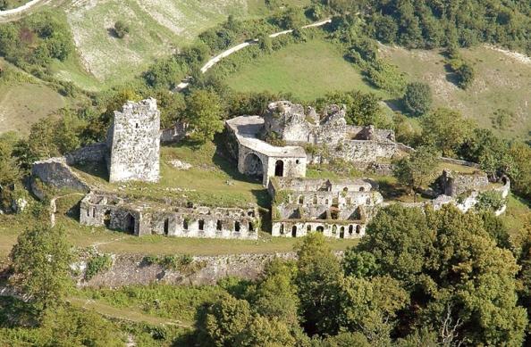 Анакопийская крепость с высоты
