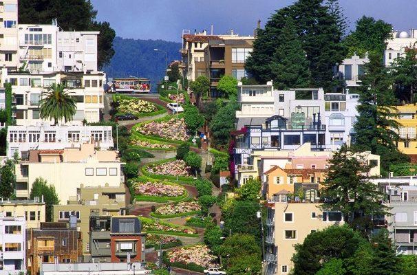 Улица Ломбард-стрит, Сан-Франциско