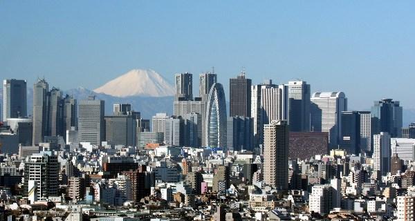 Токио, гора Фудзияма