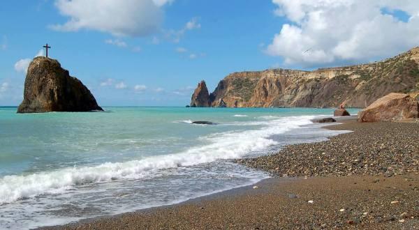 Царский пляж, Новый Свет