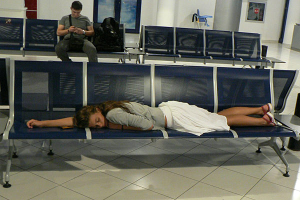 Ночлег в аэропорту