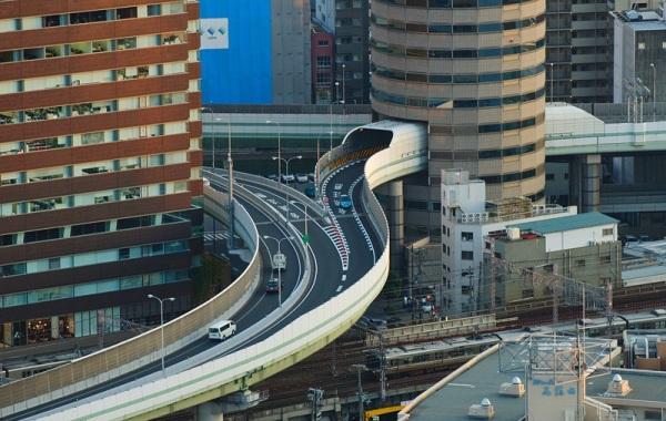 Тоннель в Японии