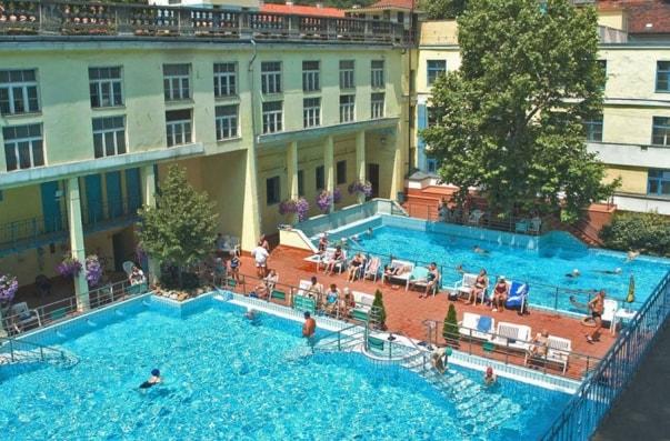 Термальная купальня Сент Лукач