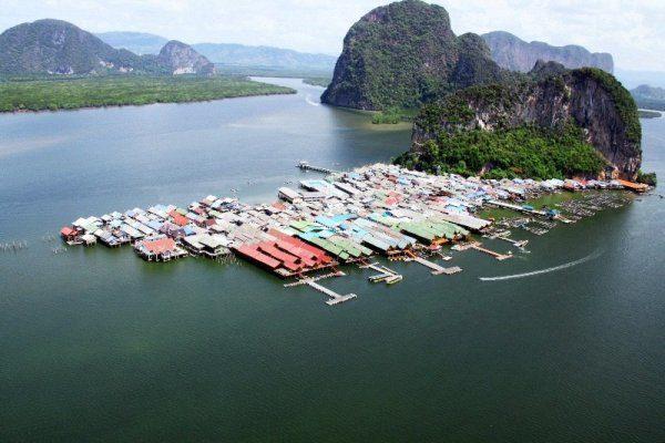 Рыбацкая деревня Ко Пани, Тайланд
