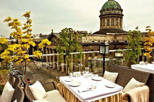 Ресторан Terrassa, Санкт-Петербург