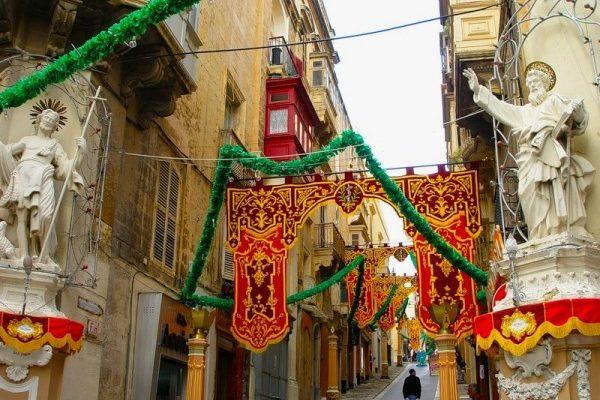Зимние каникулы на Мальте