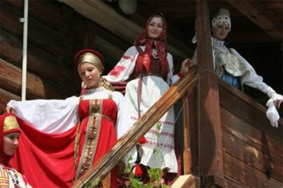 Свадебное платье на Руси