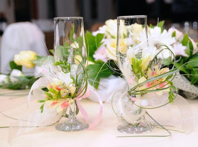 Красивые свадебные бокали