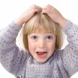Себорея кожи головы у ребенка