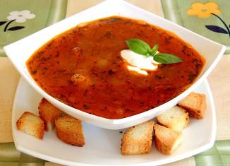 Супы для кормящих мам: рецепты в первый месяц