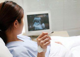 Как влияет курение на беременность?