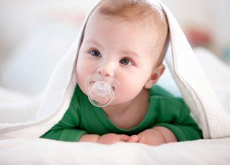 Ортодонтические пустышки для младенцев