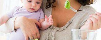 Диета для кормящей матери: основные принципы, виды продуктов, приём лекарств