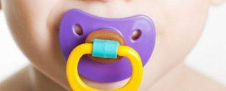 Соска для ребёнка: самые распространённые виды сосок
