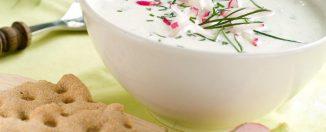 Блюда для диеты: вкусный кефирный суп для сидящих на диете