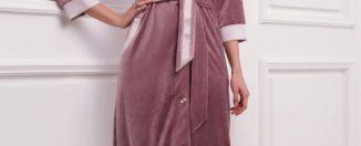 Женский домашний халат, правила выбора