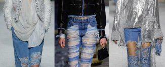 Модные джинсы 2019, фото