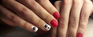 Маникюр на короткие ногти: стильные варианты нейл-арта
