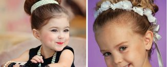 Детские причёски, фото: на праздники и все случаи жизни