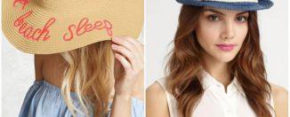 Шляпа - летний тренд, правила выбора фасона