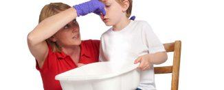 Кровь из носа, первая помощь ребёнку