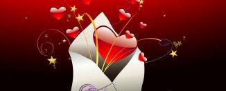 Признание в любви в День Святого Валентина