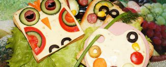 Бутерброды в школу и на праздник для ребёнка, вкусно и полезно