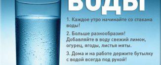 Польза воды, сколько пить воды в день