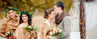 Как выбрать дату свадьбы, в какое время года