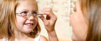 Плохое зрение у детей, как приучить ребёнка к ношению очков