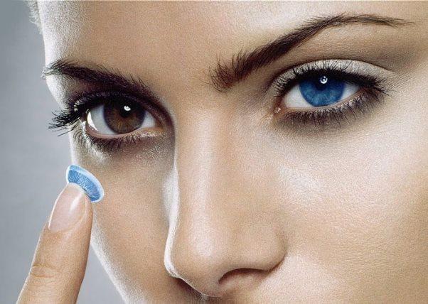 Изменяем цвет глаз