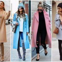 Модные женские пальто 2019