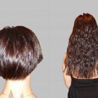 Все положительные и отрицательные аспекты при наращивании волос