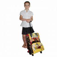 Школьный рюкзак на колёсиках: преимущества и недостатки