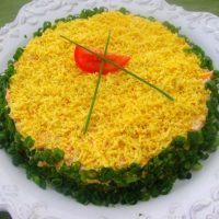 Классический рецепт салата «Мимоза»